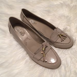 Tan Ellen Tracy Patent, Reese Style, Size 9.5